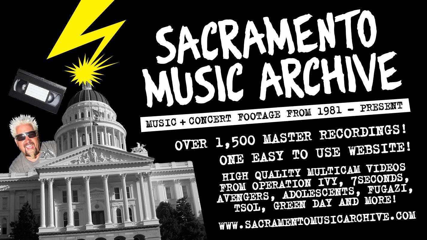 Sacramento Music Archive